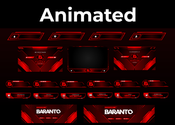 Baranto - Red City Stream Package