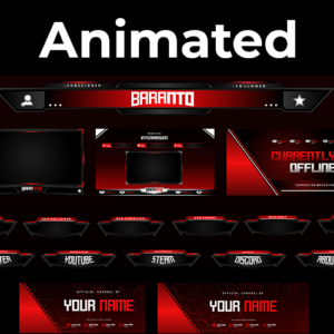 Nihon Series Stream Package (Animated)