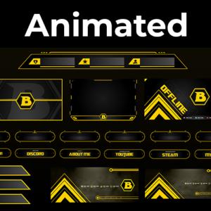 Hornet Series Stream Package (Animated)